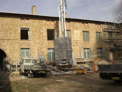 STB Grâne STB Montmeyran Marc Buffard Rénovation château du Mouchet